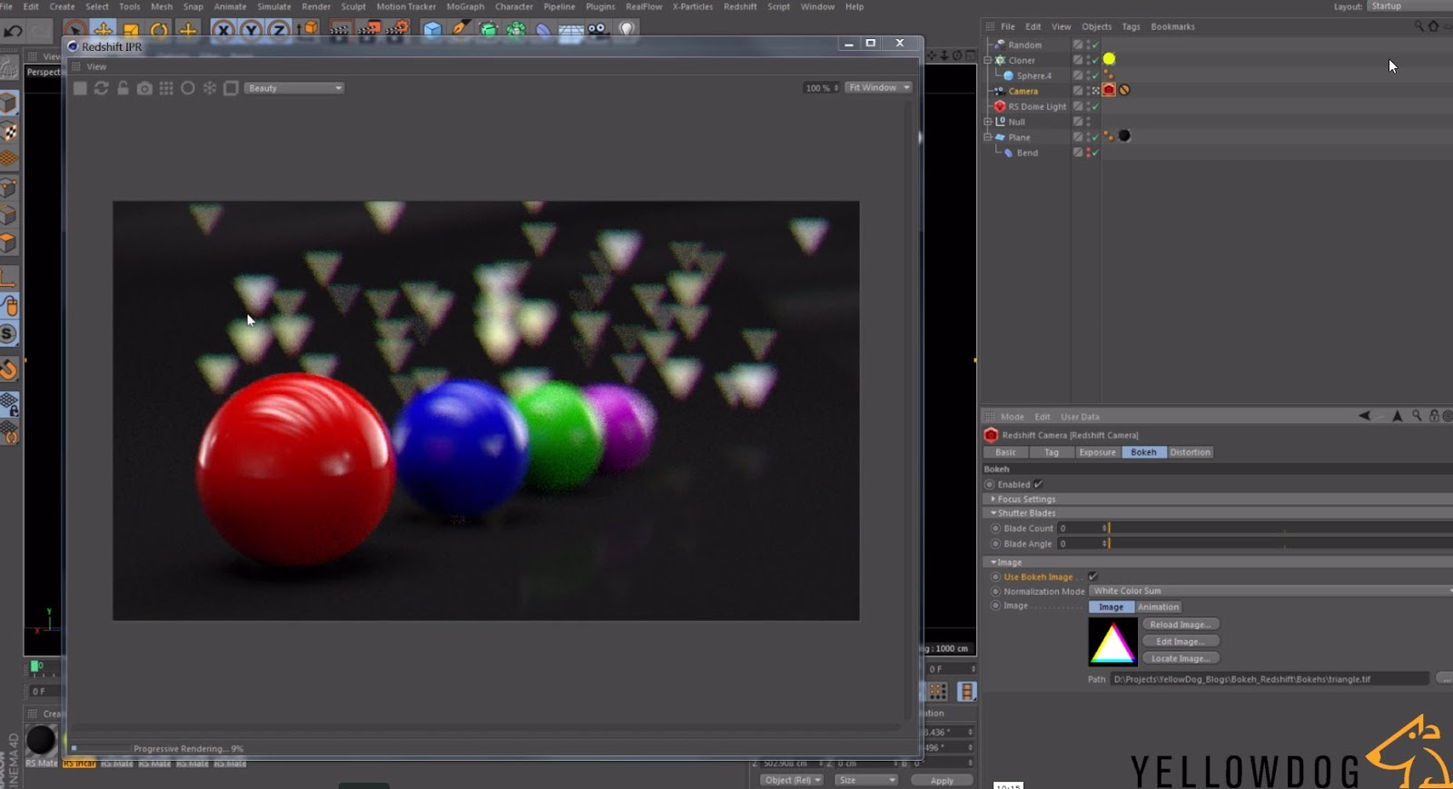 Create Custom Bokeh Images for Redshift with After Effects | CG TUTORIAL