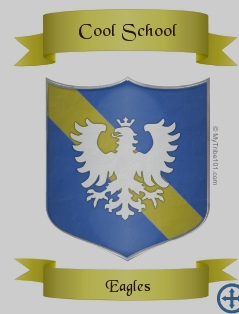 Cool School Eagles Crest