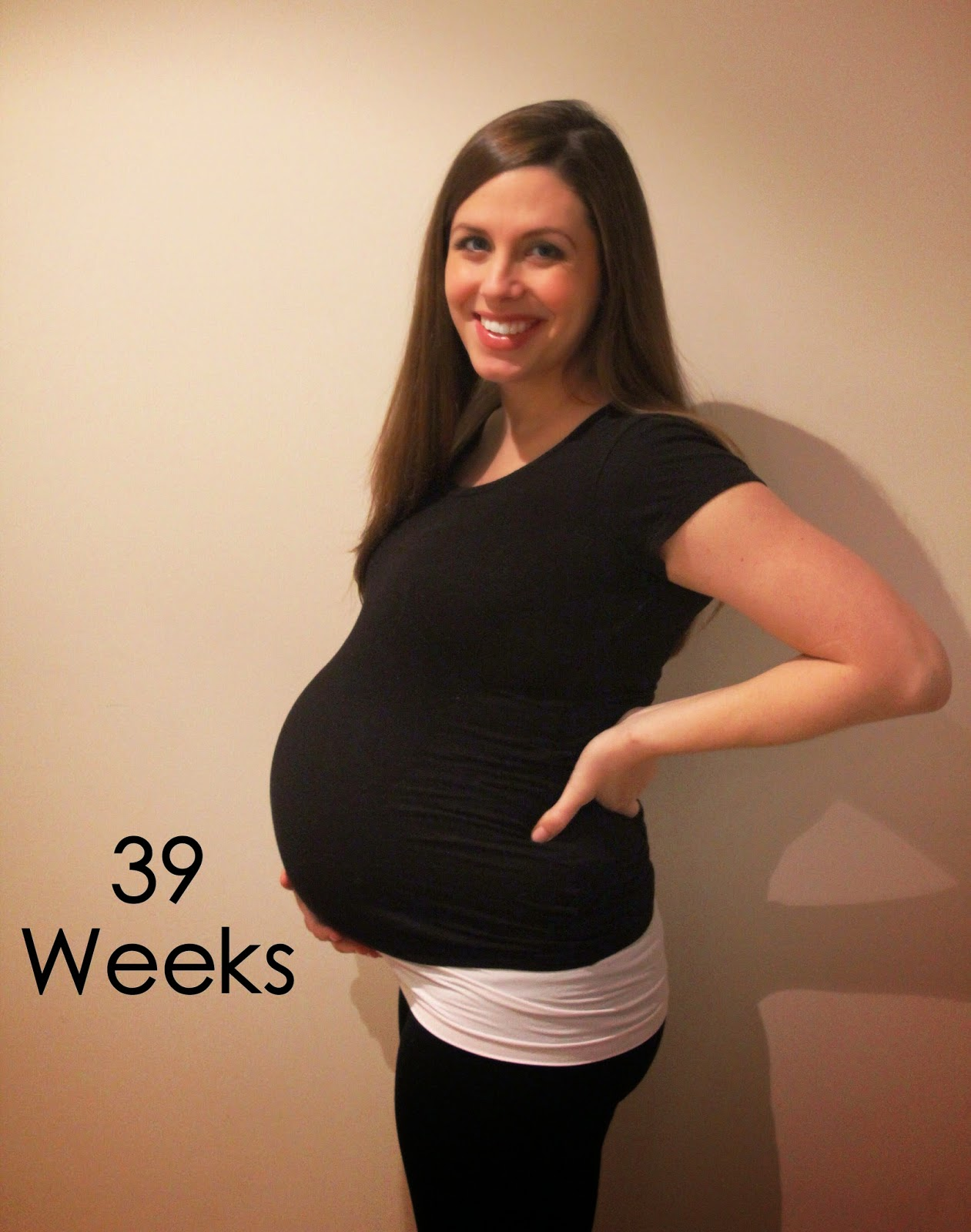Oh So Bright: 39 Weeks Pregnant
