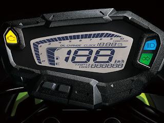 Panel Indikator speedometer Yamaha Xride versi Taiwan full digital