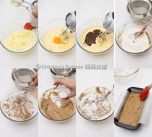 Chocolate Pound Cake Procedures02