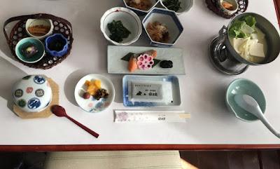 富士屋の朝食