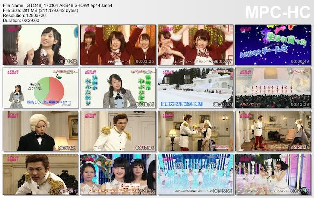 170304 AKB48 SHOW! ep143 Subtitle Indonesia