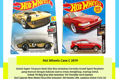 Hot Wheels Case C 2018 (Honda CRX Come Back)