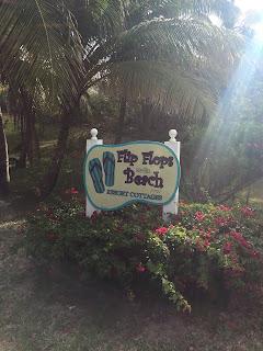 Flip Flops on The Beach, Great Guana Cay - curiousdonna.com/blog