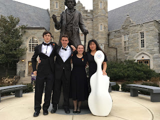 UHS Students Musicians -Picture at WCU