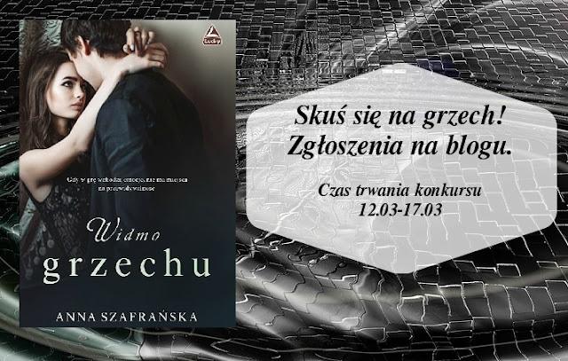Widmo grzechy, konkurs, polski debiut, najlepsza ksiażka roku, ksiazka na lato, ksiązka na wiosne, zachęcam do czytania, Wrocław w ksiażce, książka, akcja ksiażki we wrocławio, miłośc w książce, wątki w ksiażce, recenzje książek, ksiażko miłości moja, jak wygrać książkę, jakie jest widmo grzechu, Anna Szafrańska, Anna Szafrańska debiutant,