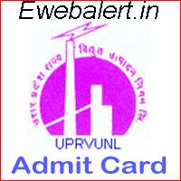 UPRVUNL Admit Card