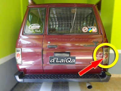 Toyota Kijang Super - Lampu Rem Mati