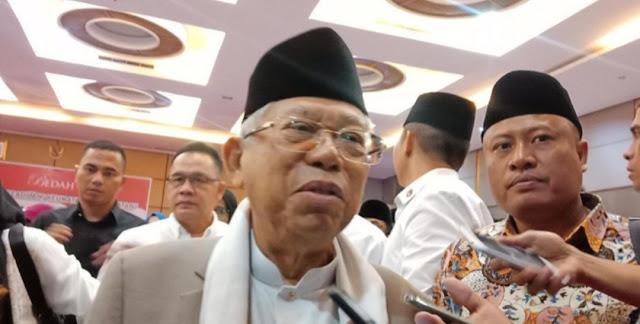 Kiai Ma'ruf Amin Setuju JK Larang Ahok Masuk TKN