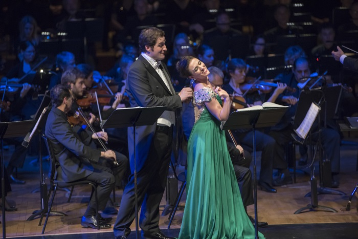 Riccardo Massi, Ermonela Jaho & BBC Symphony Orchestra (c) Russell Duncan