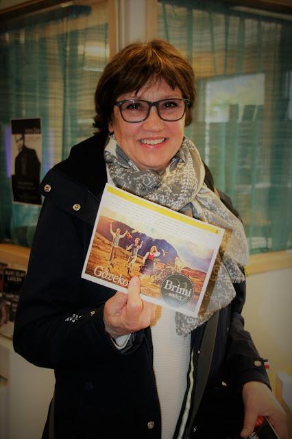 Den glade vinnar -  Ann-Lisbeth Lind Bakken. Foto: Sigrun Eide