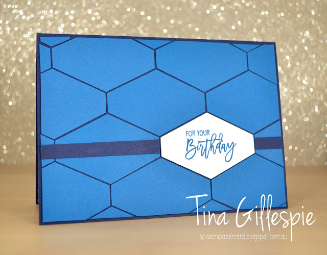 scissorspapercard, Stampin' Up!, Art With Heart, Colour Creations, Birthday Cheer, Tailored Tag Punch