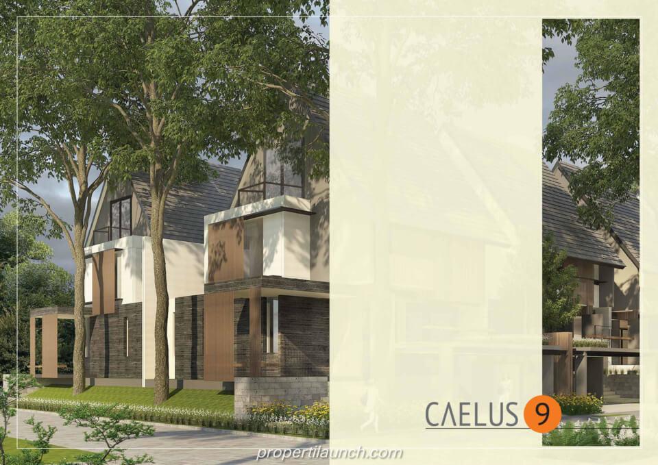 Rumah Cluster Caelus Tipe 9