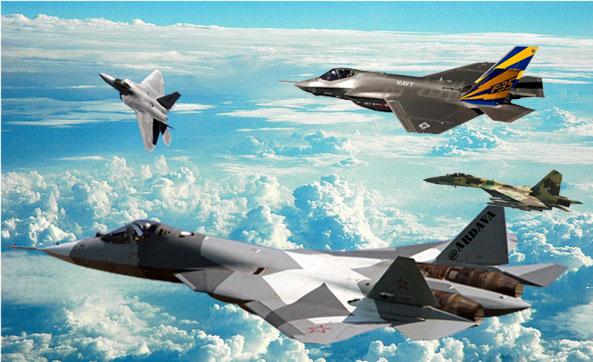 Jet Tempur AS Seperti Jam Swiss, Buatan Rusia Seperti Tank