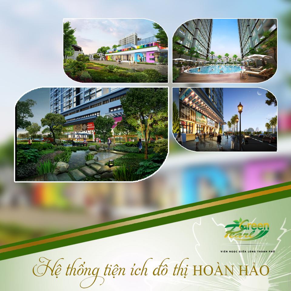 Tiện ích đô thị hoàn hảo tại Green Pearl