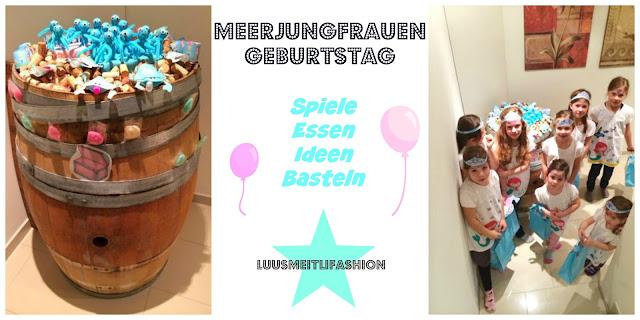 Meerjungfrauen-Geburtstag-Party-Ideen