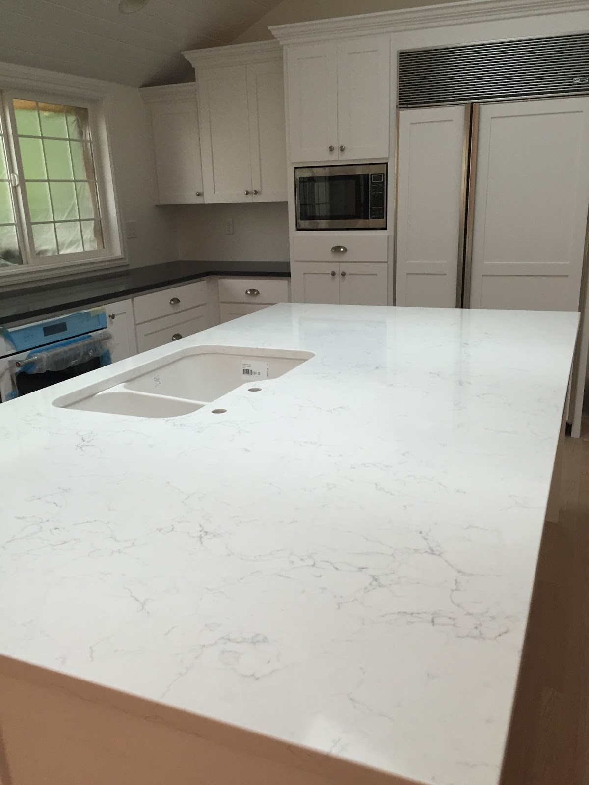 Honed Quartz Countertops Steward Of Design Almost Complete