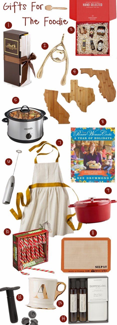 Gifts for the Foodie | A Good Hue