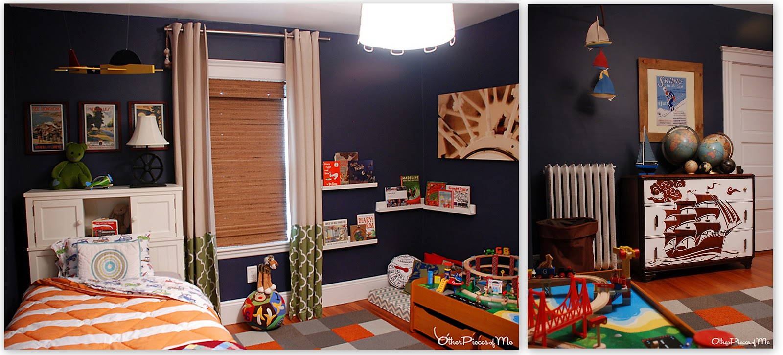 Other Pieces Of Me: Little G's Big Boy Bedroom Reveal (take 2
