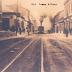 El tren pasando por Calle de Coquimbo