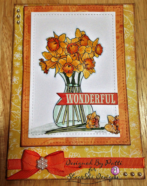 Wonderful Tulips for SheepSki Designs Challenges