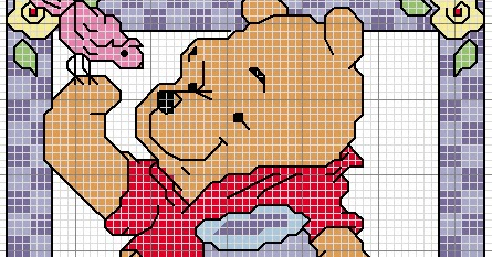 Paomamma primavera a punto croce spring cross stitch for Winnie the pooh punto croce schemi
