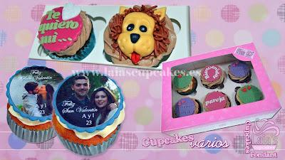cupcakes personalizados impresión comestible fondant modelado 2d 3d laia's cupcakes puerto sagunto