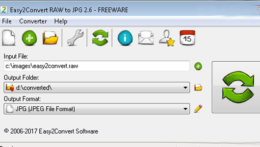 raw to jpg converter free download