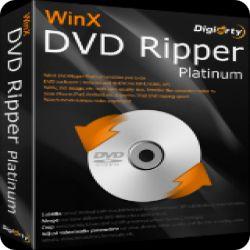 تحميل WinX DVD Ripper Platinum 8.5.0 فك تشفير اقراص DVD و تحويلها