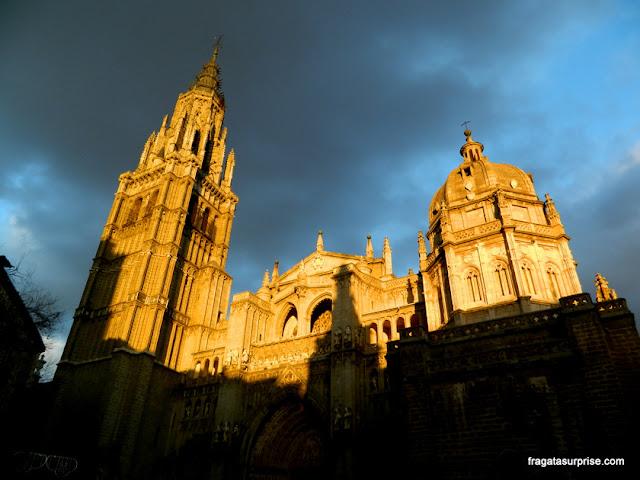 Torres da Catedral de Toledo, Espanha