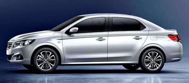 Peugeot 301 2018 Gasolina/Diésel: diseño exterior
