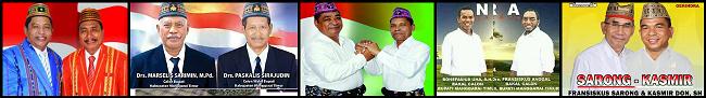 Lima pasang calon Bupati dan wakil Bupati Kabupaten Manggarai Timur 2018