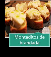 MONTADITOS DE BRANDADA DE BACALAO