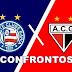 Todos os confrontos de Bahia x Atlético-GO