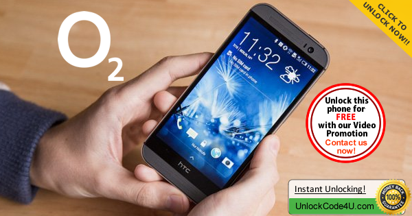 Factory Unlock Code HTC One M8s from O2