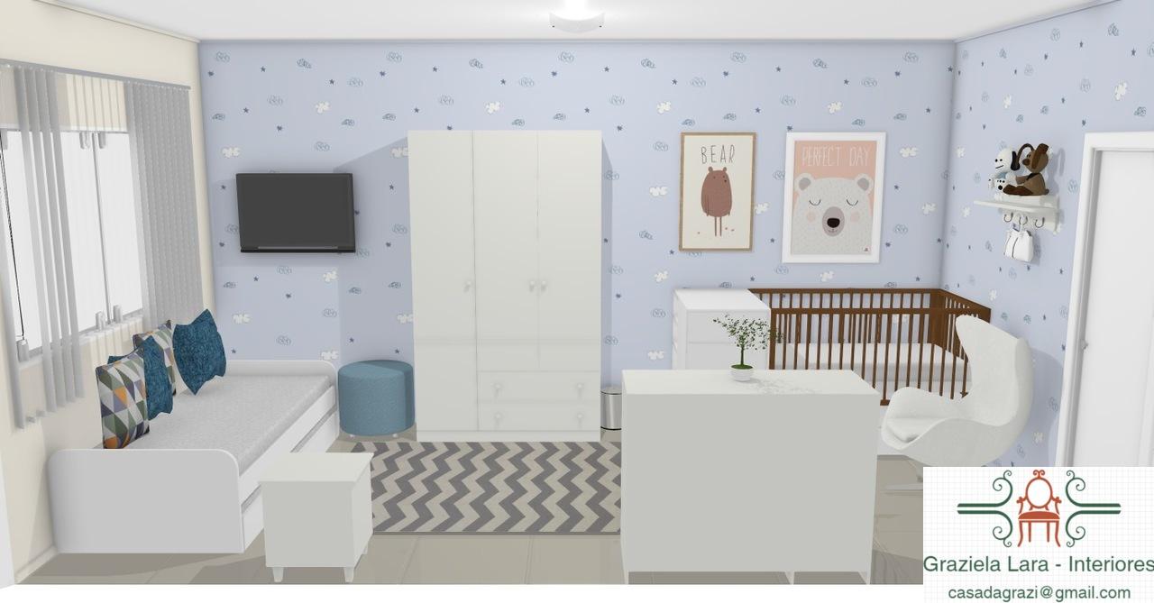 Construindo Minha Casa Clean Consultoria De Decora O Quarto De  ~ Quarto De Bebe Decorado Com Gesso