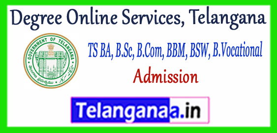 TS Online Degree Admission 3rd/Final Allotment 2018