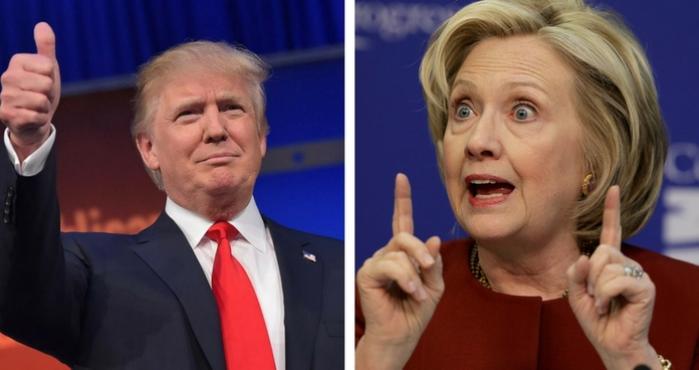 Quien va ganando las elecciones de EU  Hillary Clinton o Donald Trump ?
