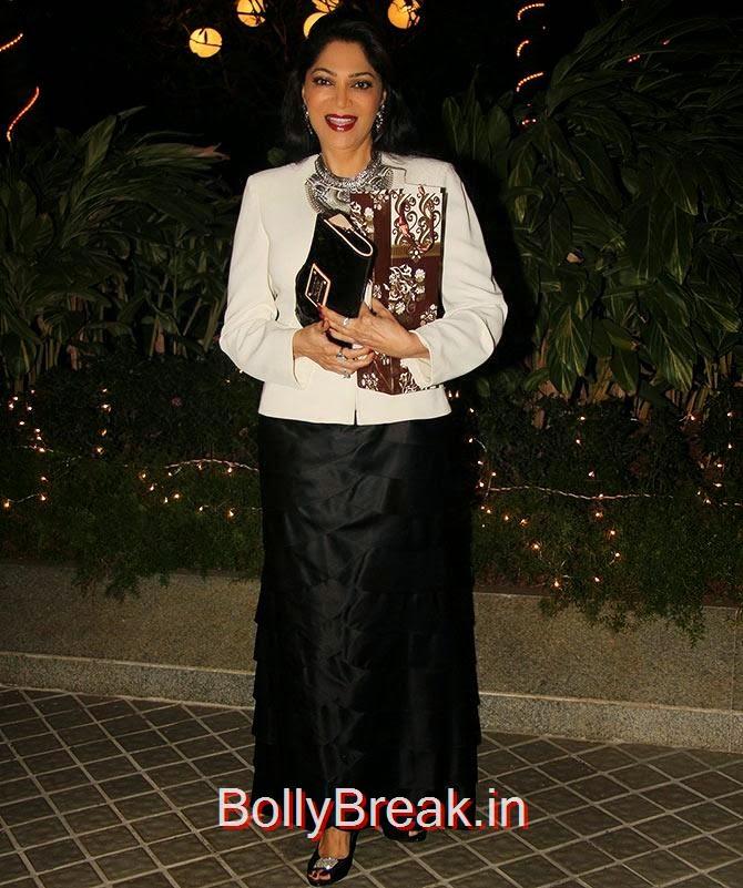 Simi Garewal, Bollywood Celebrities At Farah Khan's GRAND 50th Birthday Party