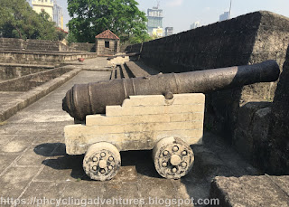 Intramuros Wall Cannon
