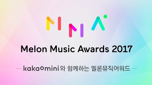 Vencedores do Melon Music Awards 2017