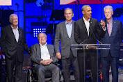 Lima Mantan Presiden AS Hadiri Konser Amal untuk Korban Badai