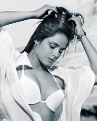 Neetu Chandra white bikini image