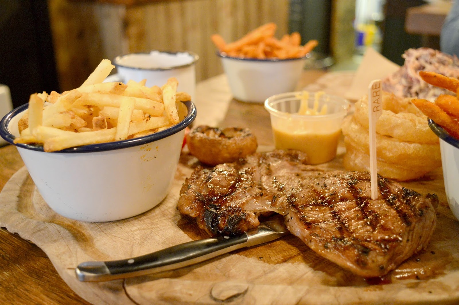 Steak Night at Longhorns Barbecue Smokehouse, Newcastle - New Menu Review