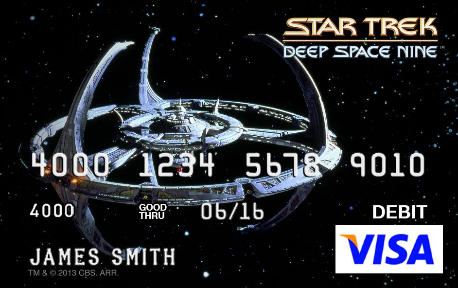 The Trek Collective: New Star Trek debit cards