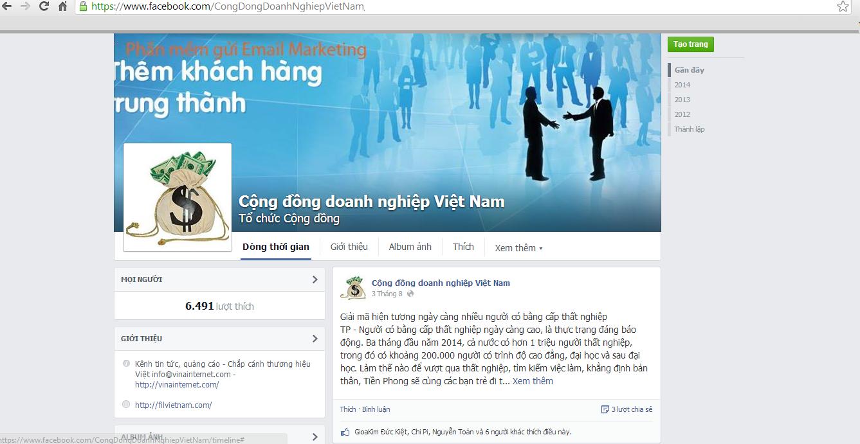 https://www.facebook.com/CongDongDoanhNghiepVietNam