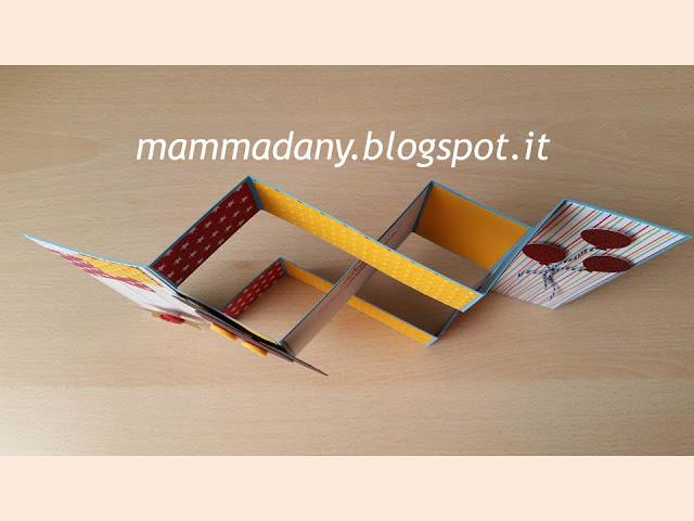 biglietto compleanno handmade topolino