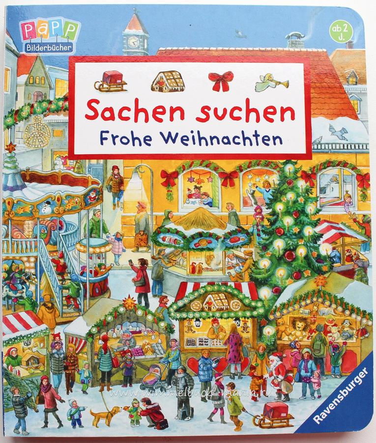 Wimmelbuch Weihnachten.Wimmelbuch Sachen Suchen Frohe Weihnachten
