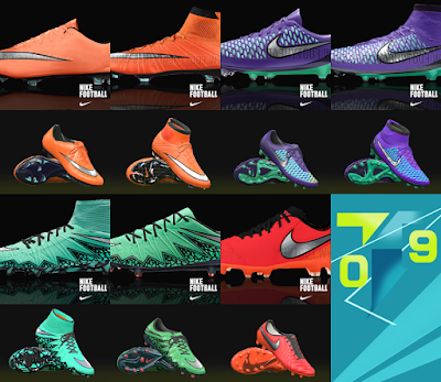 PES 2016 Nike Metal Flash Pack by T09